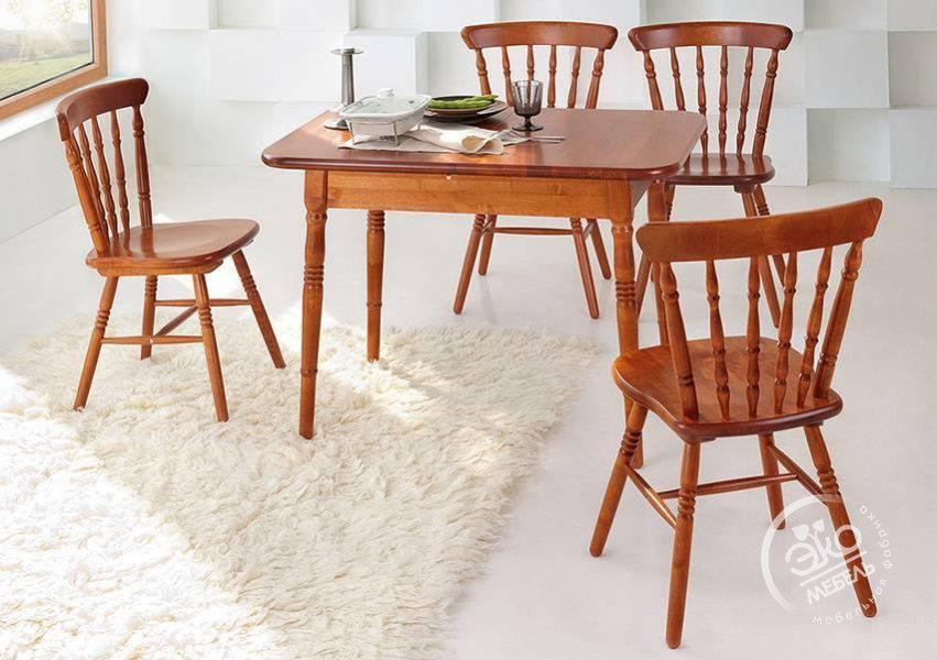 Обеденные столы и стулья