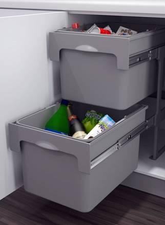 Наполнение кухонных шкафов: системы хранения на кухне | купить в Кемерово - «Экомебель», фотография №13