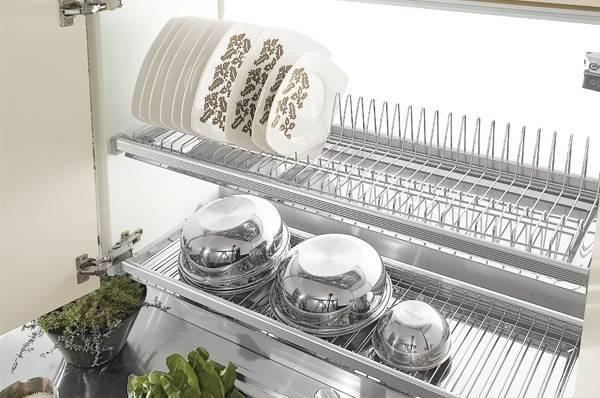 Наполнение кухонных шкафов: системы хранения на кухне | купить в Кемерово - «Экомебель», фотография №10