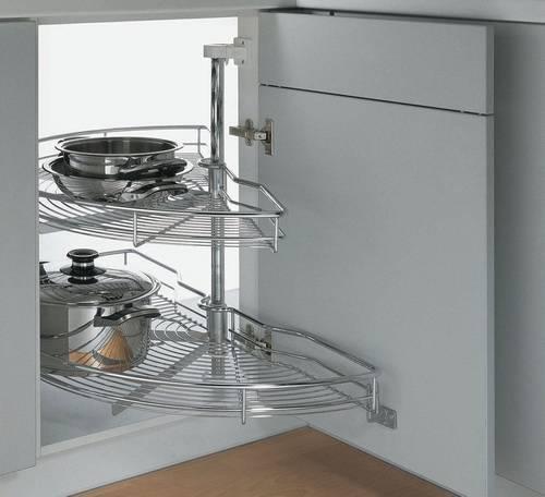 Наполнение кухонных шкафов: системы хранения на кухне | купить в Кемерово - «Экомебель», фотография №9